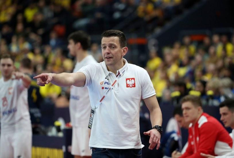 Trener reprezentacji Polski Patryk Rombel /AFP