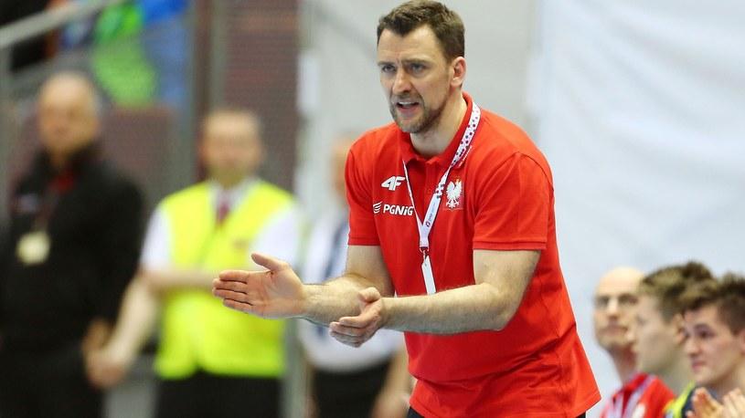 Trener reprezentacji Polski Piotr Przybecki /Newspix