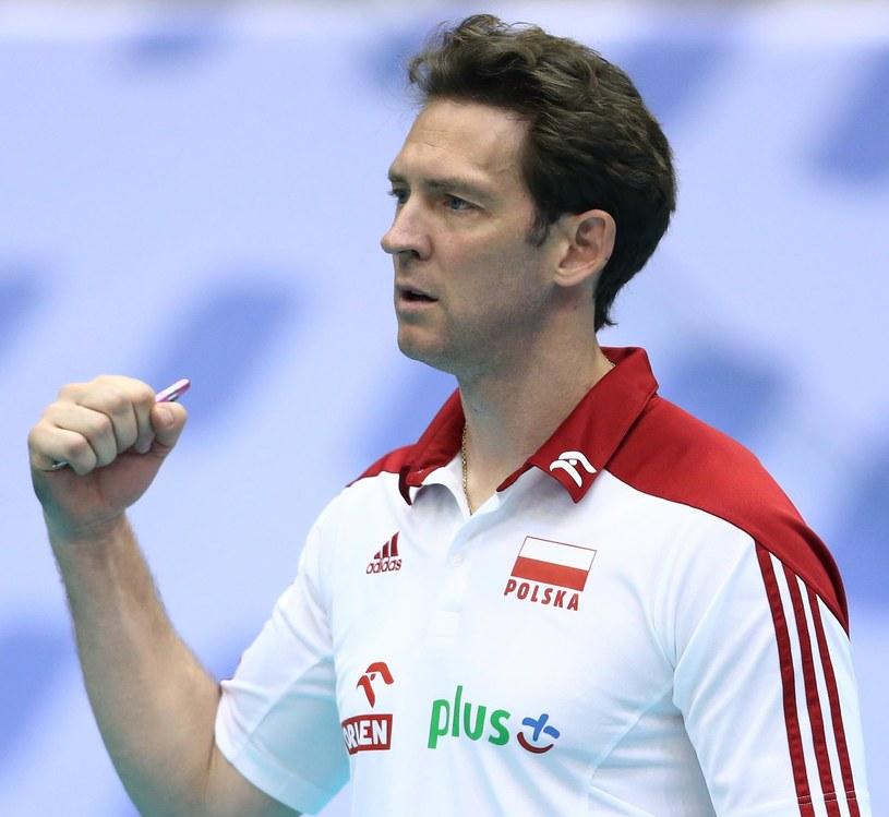 Trener reprezentacji Polski siatkarzy Stephane Antiga /www.fivb.org