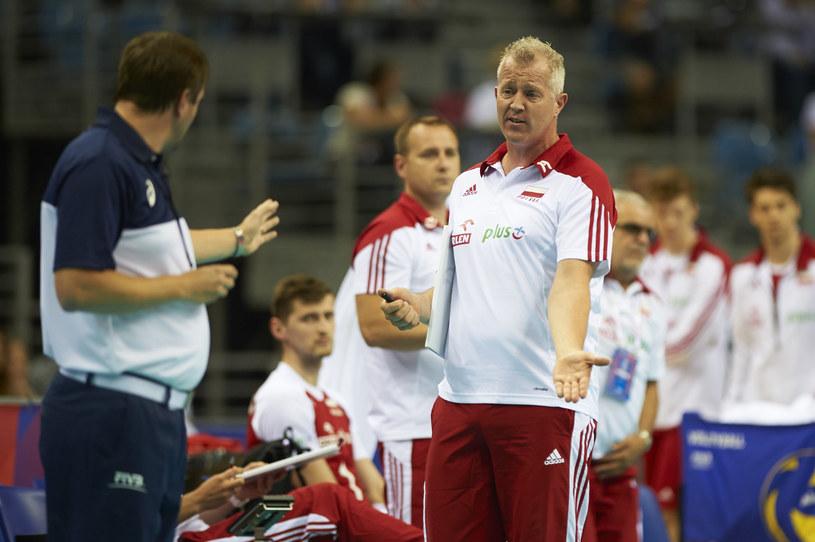 Trener reprezentacji Polski siatkarzy Vital Heynen /www.fivb.org