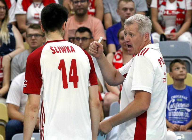 Trener reprezentacji Polski siatkarzy Vital Heynen /Krzysztof Świderski /PAP