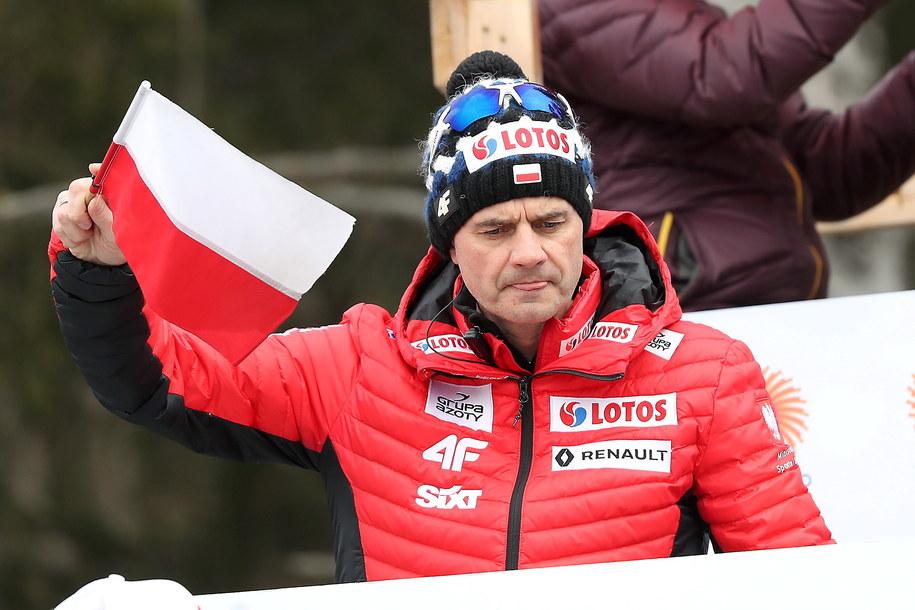 Trener reprezentacji Polski Stefan Horngacher / Grzegorz Momot    /PAP