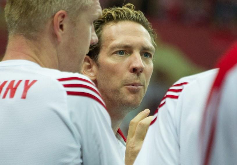 Trener reprezentacji Polski Stephane Antiga /AFP