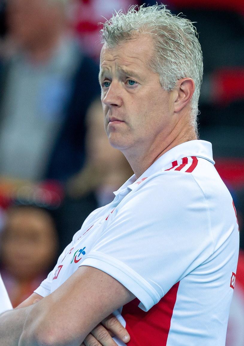 Trener reprezentacji Polski Vital Heynen / Andrzej Grygiel    /PAP