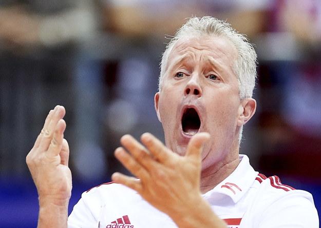 Trener reprezentacji Polski Vital Heynen / Adam Warżawa    /PAP