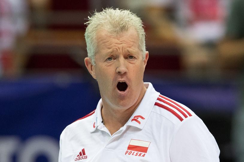 Trener reprezentacji Polski Vital Heynen /fot. Andrzej Iwanczuk/REPORTER /East News