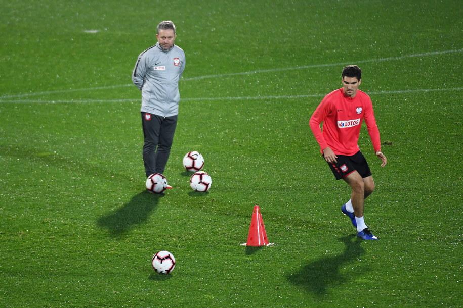 Trener reprezentacji Polski w Portugalii /Bartłomiej  Zborowski /PAP