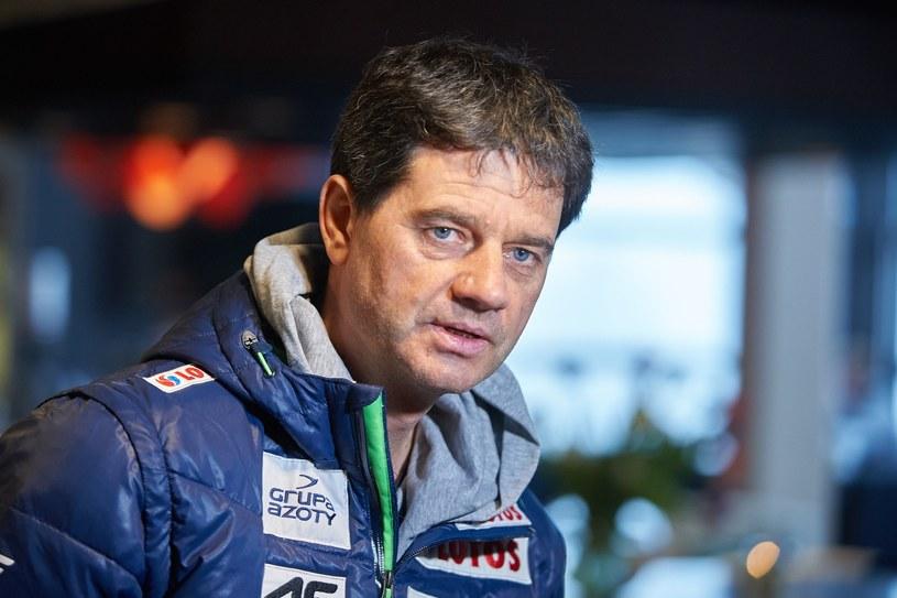 Trener reprezentacji Polski w skokach narciarskich Stefan Horngacher /Fot. Łukasz Szeląg/REPORTER /East News
