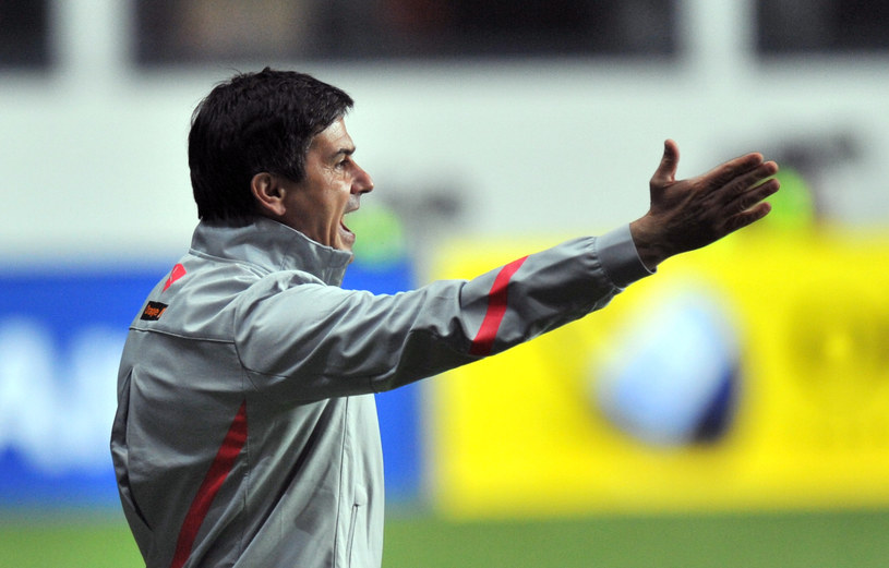 Trener reprezentacji Polski - Waldemar Fornalik /AFP