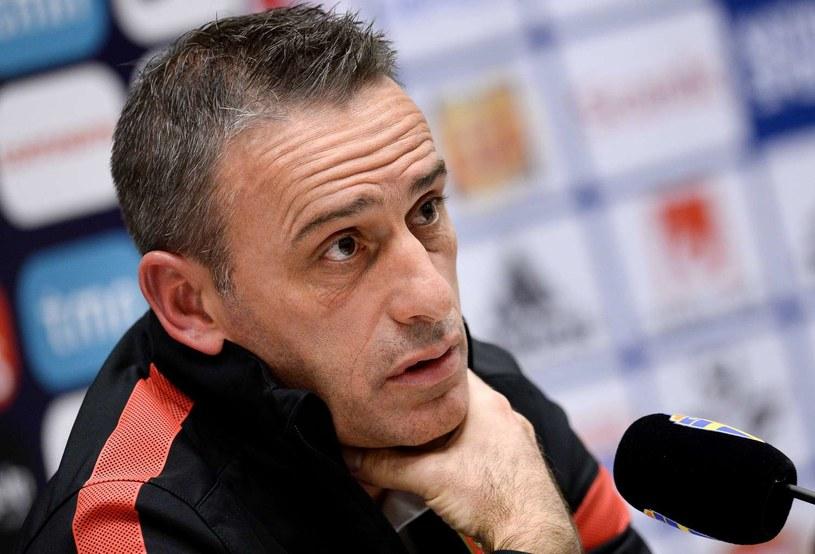 Trener reprezentacji Portugalii Paulo Bento /AFP