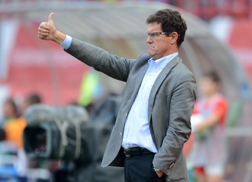 Trener reprezentacji Rosji Fabio Capello /AFP