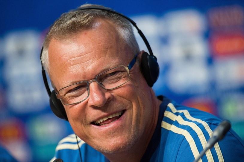 Trener reprezentacji Szwecji - Janne Andersson /PAP/EPA