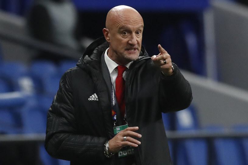 Trener reprezentacji Węgier Marco Rossi /AFP