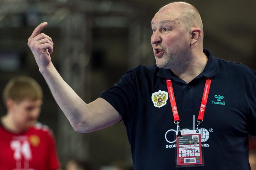 Trener Rosjan - Dimitri Torgowanow /Maciej Kulczyński /PAP