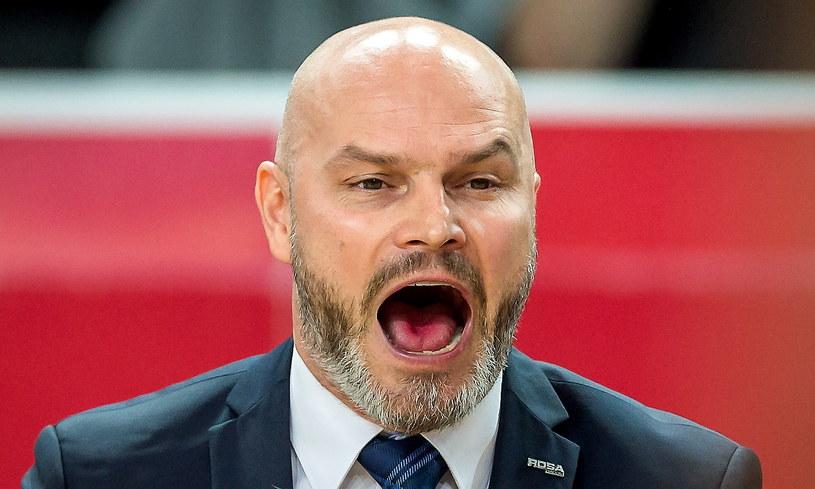 Trener Rosy Radom Wojciech Kamiński /Tytus Żmijewski /PAP