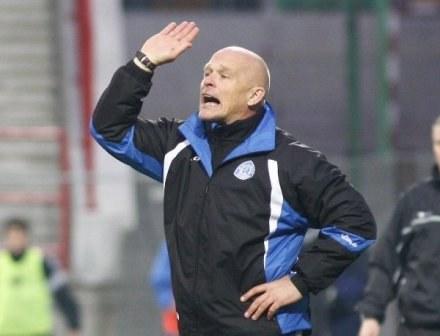 Trener Ruchu, Bogusław Pietrzak. /Agencja Przegląd Sportowy