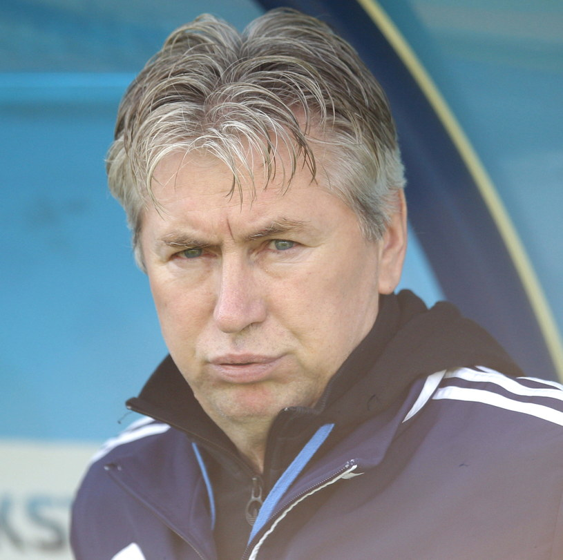 Trener Ruchu Chorzów Jan Kocian /Fot. Andrzej Grygiel /PAP