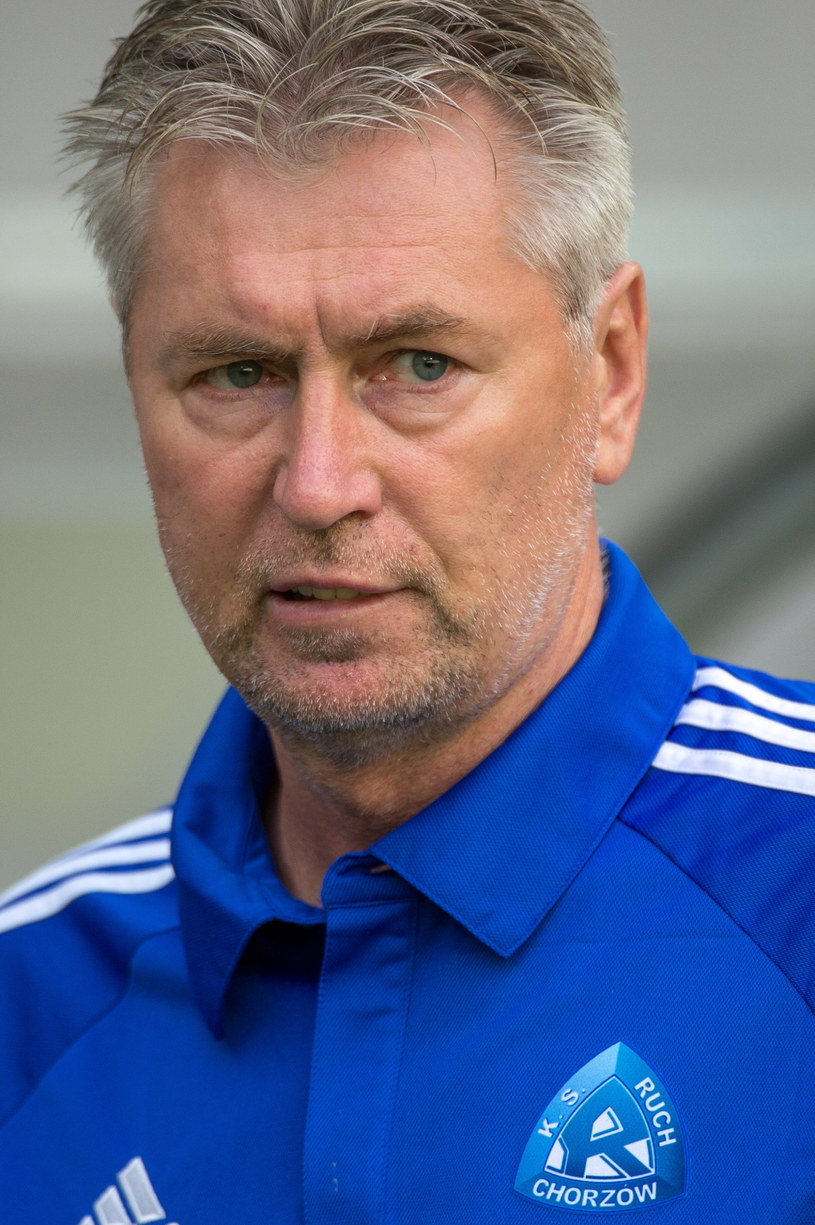 Trener Ruchu Chorzów Jan Kocian /Fot. Maciej Kulczyński /PAP