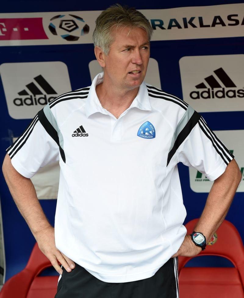 Trener Ruchu Chorzów Jan Kocian /Jacek Bednarczyk /PAP