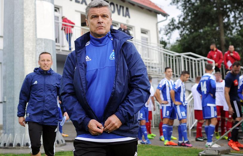 Trener Ruchu Chorzów Krzysztof Warzycha /Norbert Barczyk /Newspix