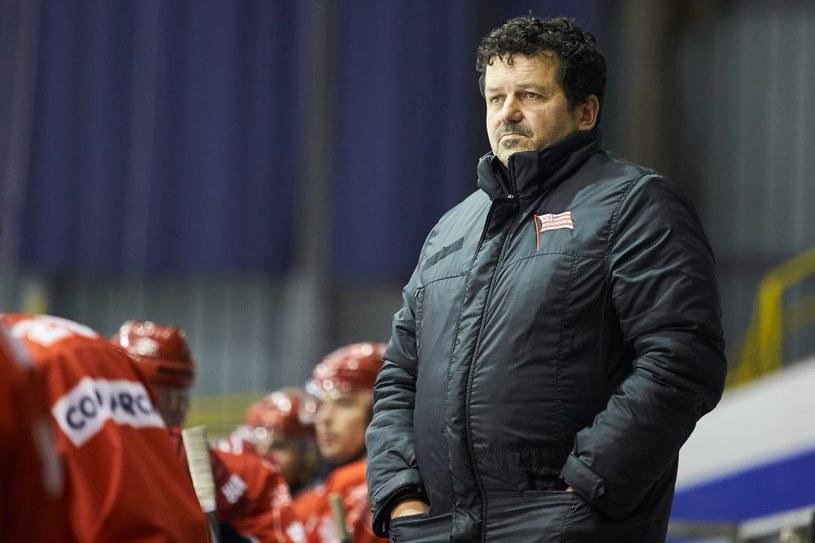 Trener Rudolf Rohaczek /Jan Rusek /