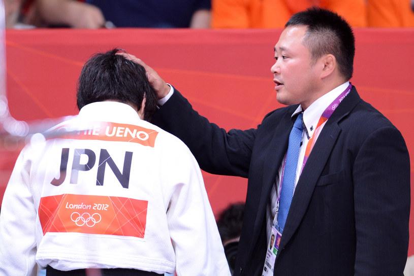 Trener Ryuji Sonoda i jego podopieczna /AFP