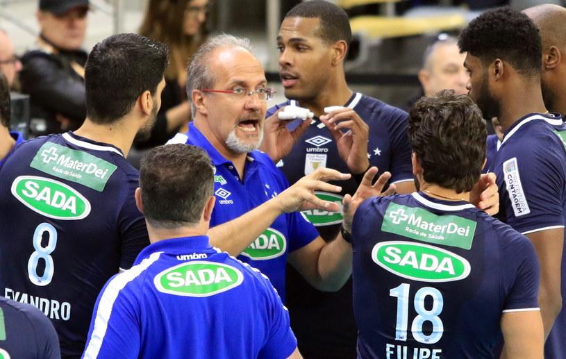 Trener Sady Cruzeiro - Marcelo Mendez /Krzysztof Świderski /PAP