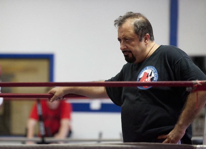 Trener Sam Colonna /Gabriel Grams /East News