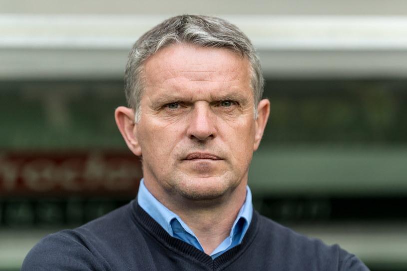 Trener Sandecji Nowy Sącz Kazimierz Moskal /Maciej Kulczyński /PAP