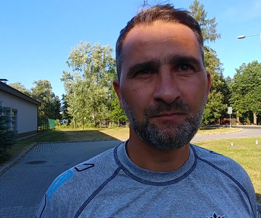 Trener Sandecji Nowy Sącz po wygranym sparingu z Wisłą Kraków. Wideo