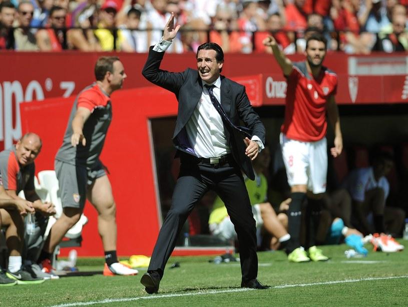 Trener Sevilli Unai Emery /AFP