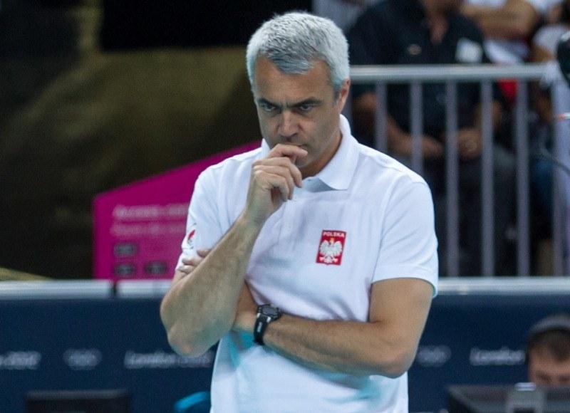 Trener siatkarskiej reprezentacji Polski Andrea Anastasi /AFP