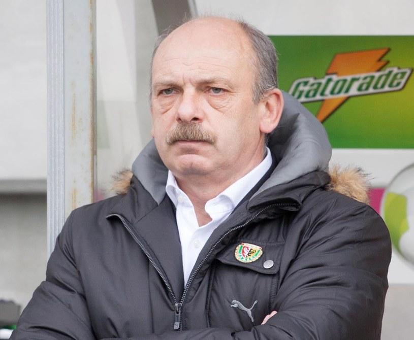 Trener Śląska Wrocław Stanislav Levy /Fot. Michał Walczak /PAP