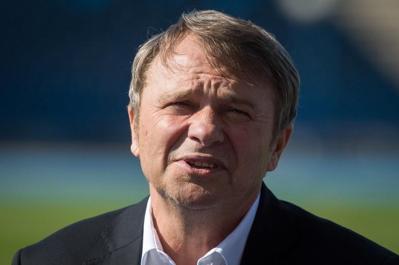 Trener Śląska Wrocław Tadeusz Pawłowski /Fot. Tytus Żmijewski /PAP