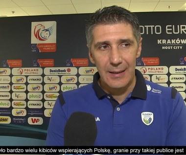 Trener Słowenii: Wynik 3-0 jest dużym zaskoczeniem. Wideo