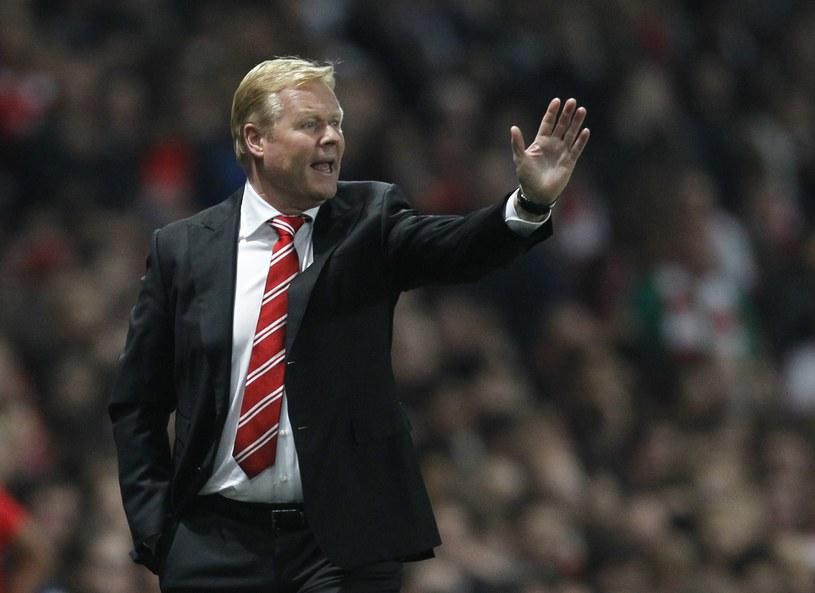 Trener Southampton Ronald Koeman /AFP