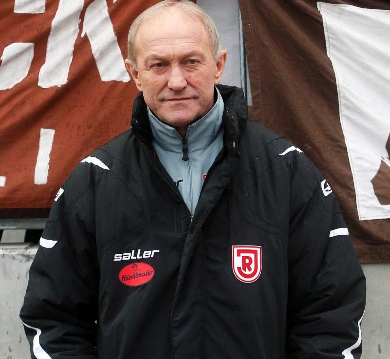 Trener SSV Jahn 2000 Ratyzbona, Franciszek Smuda /PAP/EPA