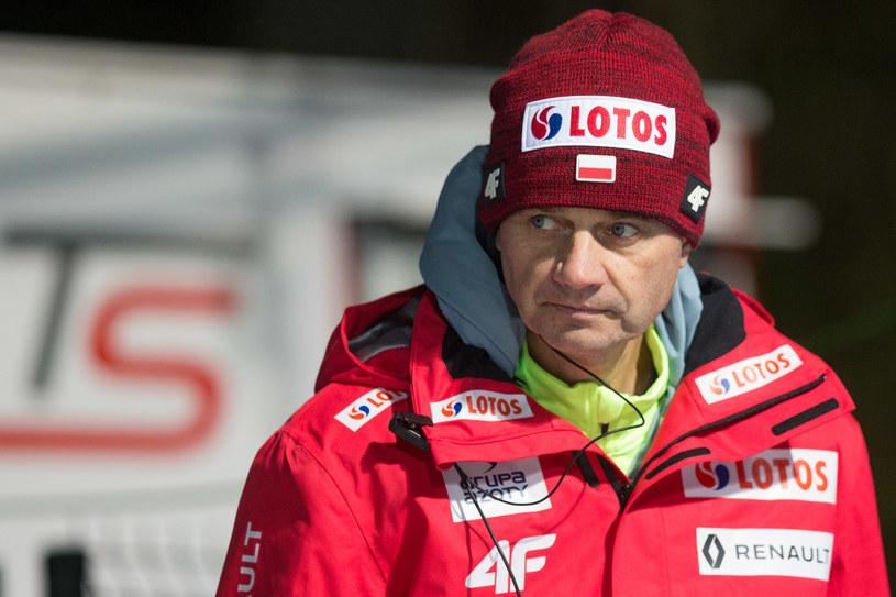Trener Stefan Horngacher /Getty Images