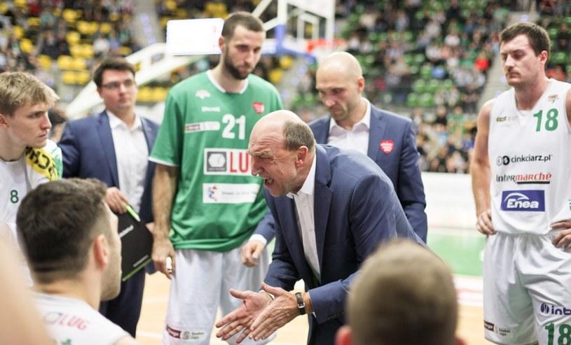 Trener Stelmetu Enea BC Zielona Góra Andrej Urlep / Lech Muszyński    /PAP