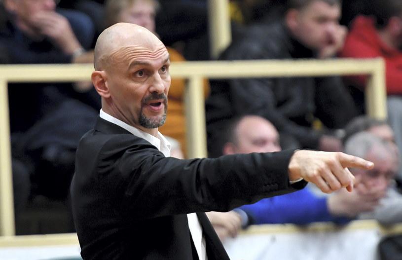 Trener Stelmetu Żan Tabak / Marcin Bielecki    /PAP