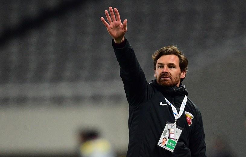 Trener Szanghaj SIPG Andre Villas-Boas /AFP