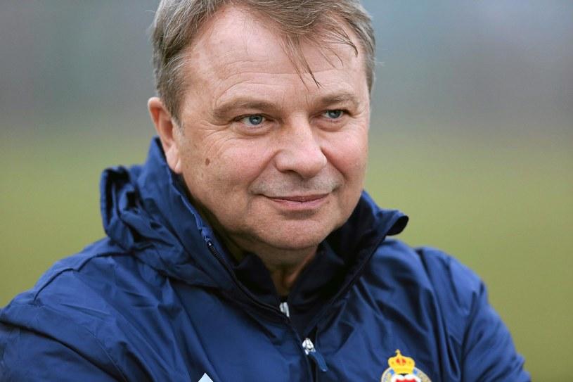 Trener Tadeusz Pawłowski niedawno został zwolniony z Wisły Kraków /Mateusz Skwarczek /
