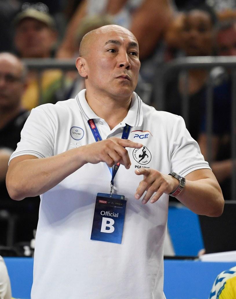 Trener Tałant Dujszebajew /AFP