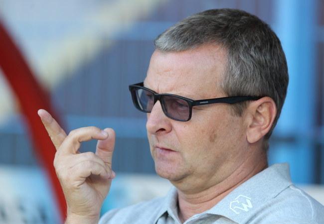 Trener Termaliki Piotr Mandrysz /PAP/Andrzej Grygiel    /PAP