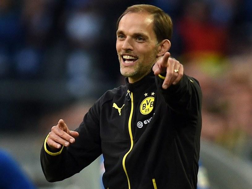 Trener Thomas Tuchel (Borussia Dortmund) /AFP