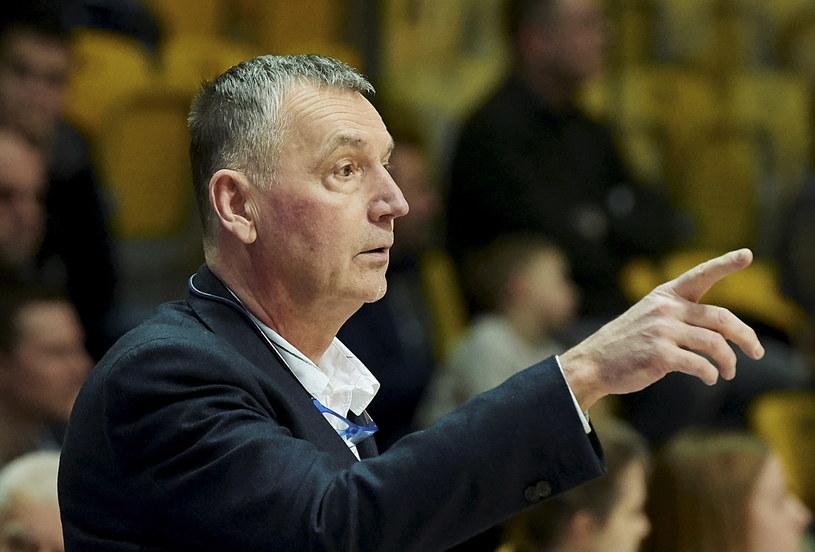 Trener Tomasz Herkt /Adam Warżawa /PAP