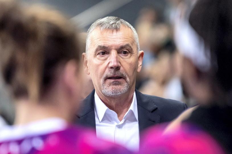 Trener Tomasz Herkt / Tytus Żmijewski    /PAP