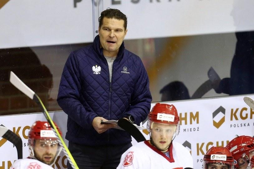 Trener Tomasz Valtonen /Piotr Matusewicz /East News