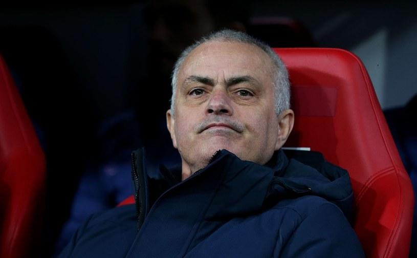 Trener Tottenhamu Jose Mourinho /AFP