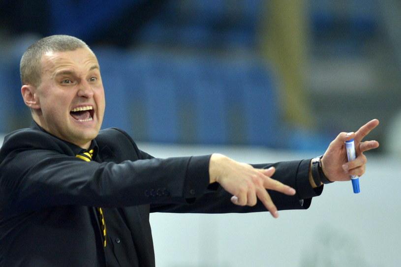 Trener Trefla Sopot Mariusz Niedbalski /Tytus Żmijewski (PAP) /PAP